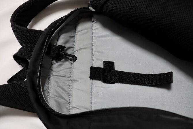 kirunaのP-3 bagの内側