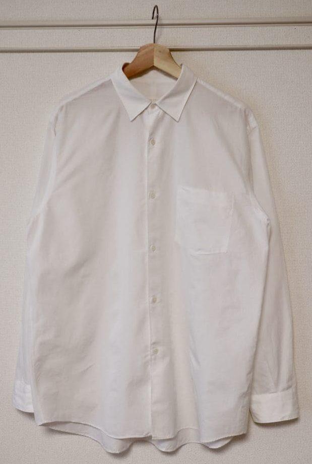 19SSコモリシャツのホワイト