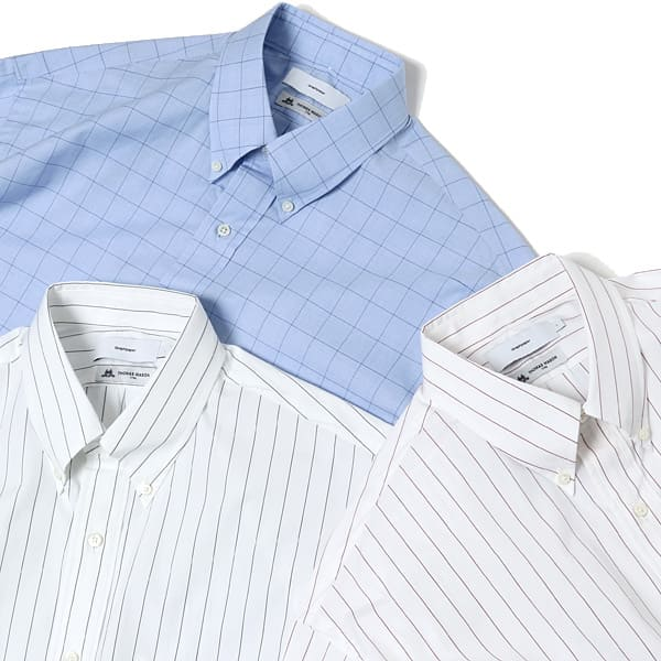 20SSのGraphpaper×Thomas masonシャツ