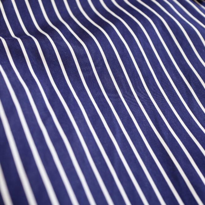 グラフペーパー×トーマスメイソンのストライプシャツ