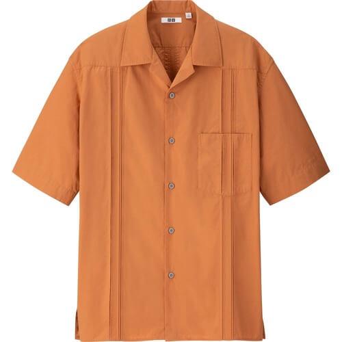 ユニクロユー2020春夏のキューバシャツ