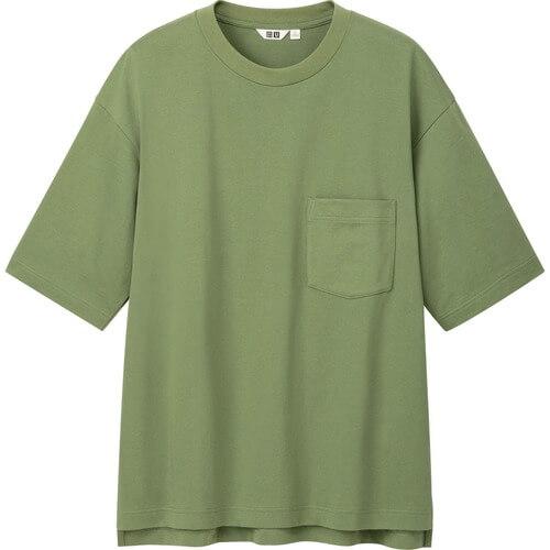 ユニクロユー2020春夏のオーバーサイズTシャツ