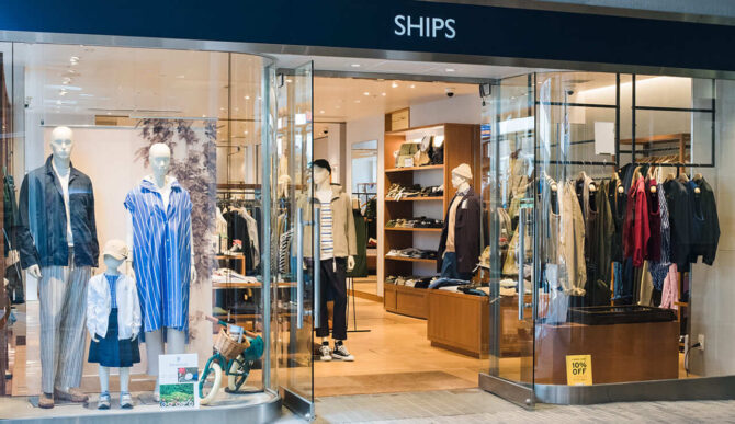 SHIPSの店舗