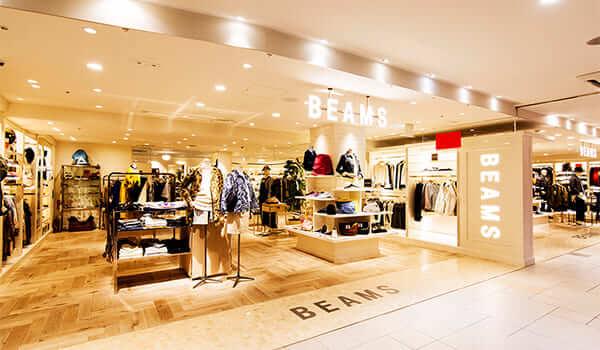 BEAMSの店舗