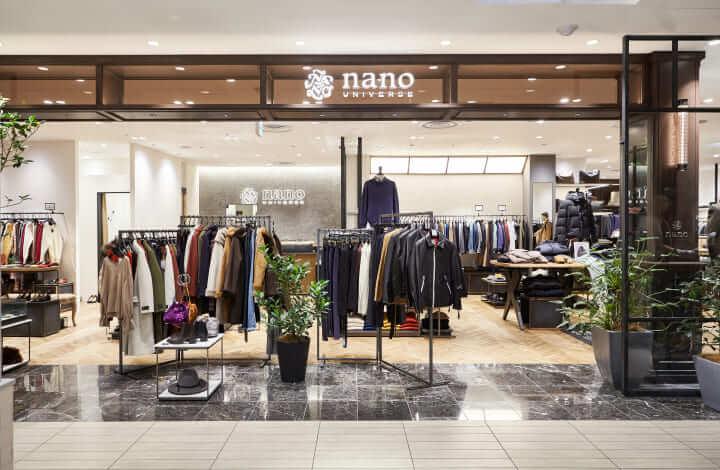 ナノユニバースの店舗