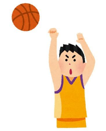 昔のバスケ選手