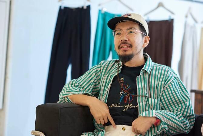 NEATデザイナーの西野大士さん