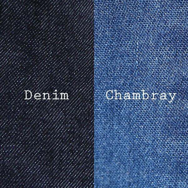デニムとシャンブレーの違い