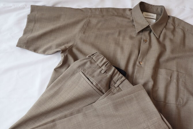 MARKAWARE(マーカウェア) Super 120's Wool Tropical Setup