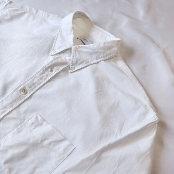 Graphpaper(グラフペーパー) オックスフォードボタンダウンボックスシャツ