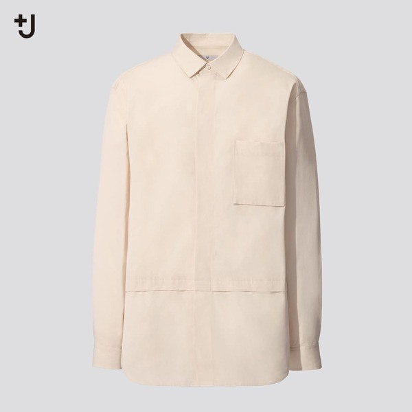 スーピマコットン オーバーサイズシャツ (長袖)