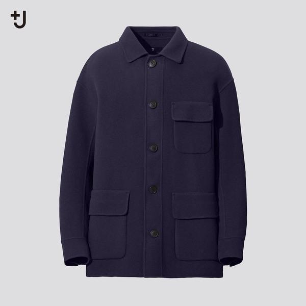 ダブルフェイスオーバーサイズワークジャケット