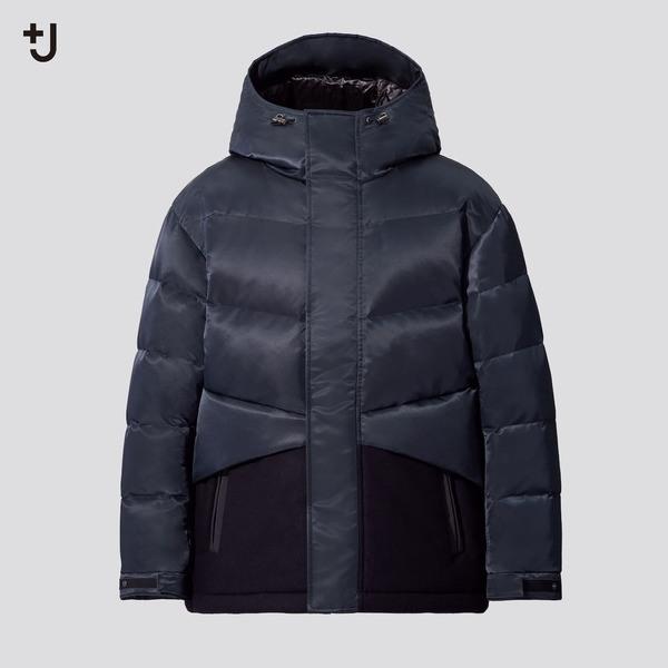ハイブリッドダウンオーバーサイズジャケット