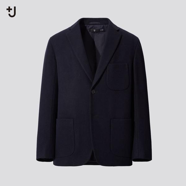 ウールブレンドオーバーサイズジャケット