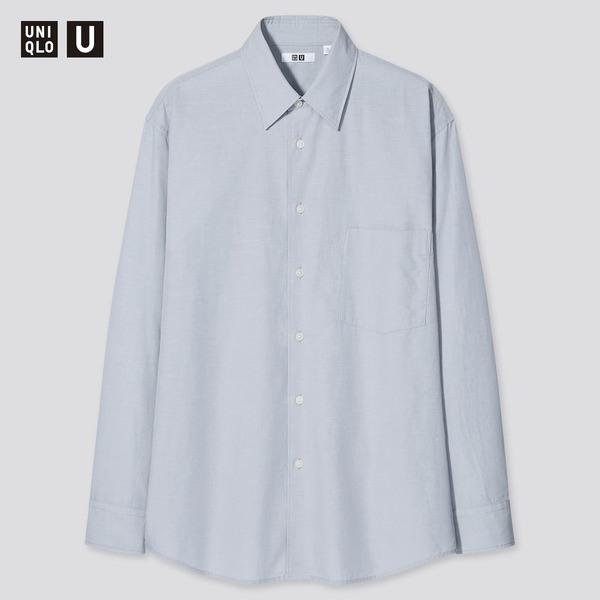 ユニクロユー21SSのリラックスフィットシャツ