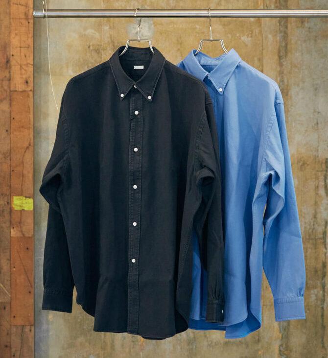 A. PRESSEのボタンダウンシャツ
