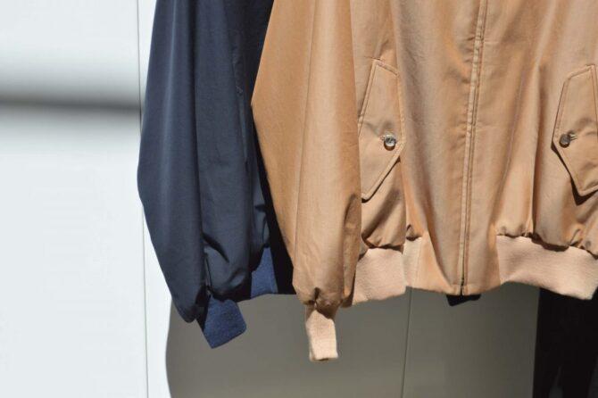 A. PRESSEのハリントンジャケット